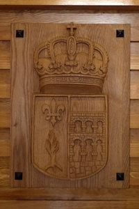 talla-escudo-ayto-santa-maria-de-la-alameda