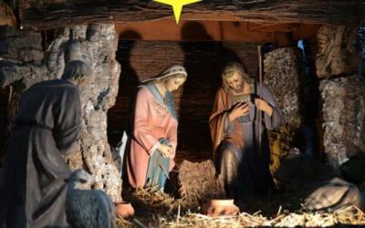 Inauguración del belén y las luces navideñas