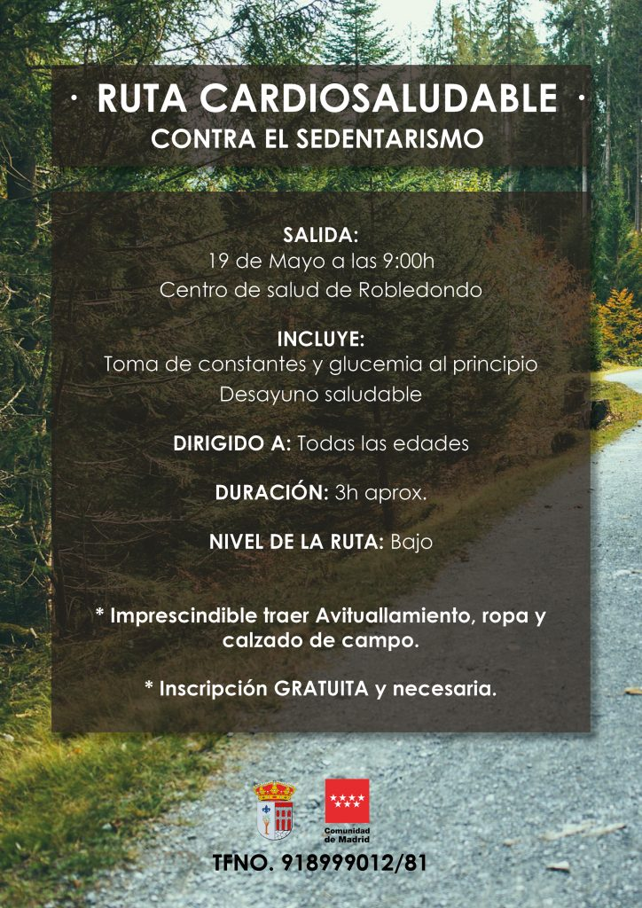 Ruta Cardiosaludable @ Robledondo | Robledondo | Comunidad de Madrid | España