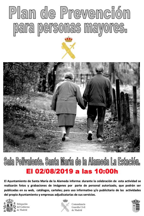 Plan de prevención para personas mayores @ Sala polivalente | Santa María de la Alameda | Comunidad de Madrid | España