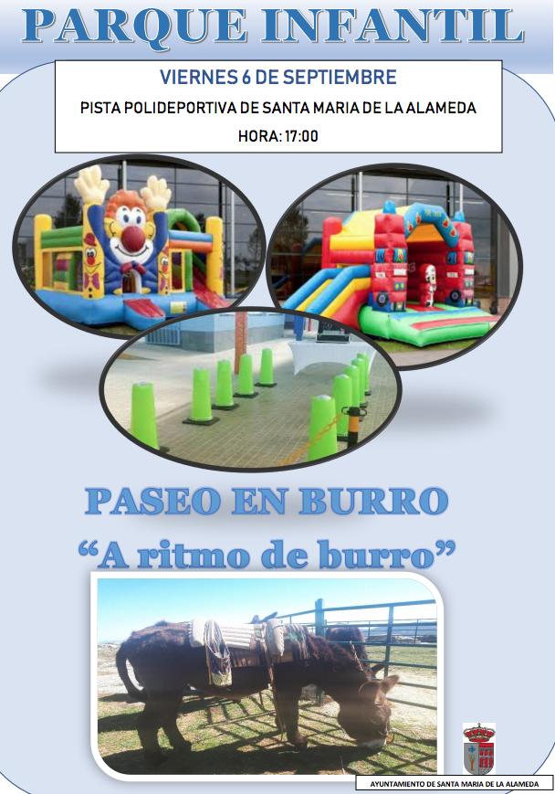 Parque Infantil @ Polideportivo Santa María de la Alameda