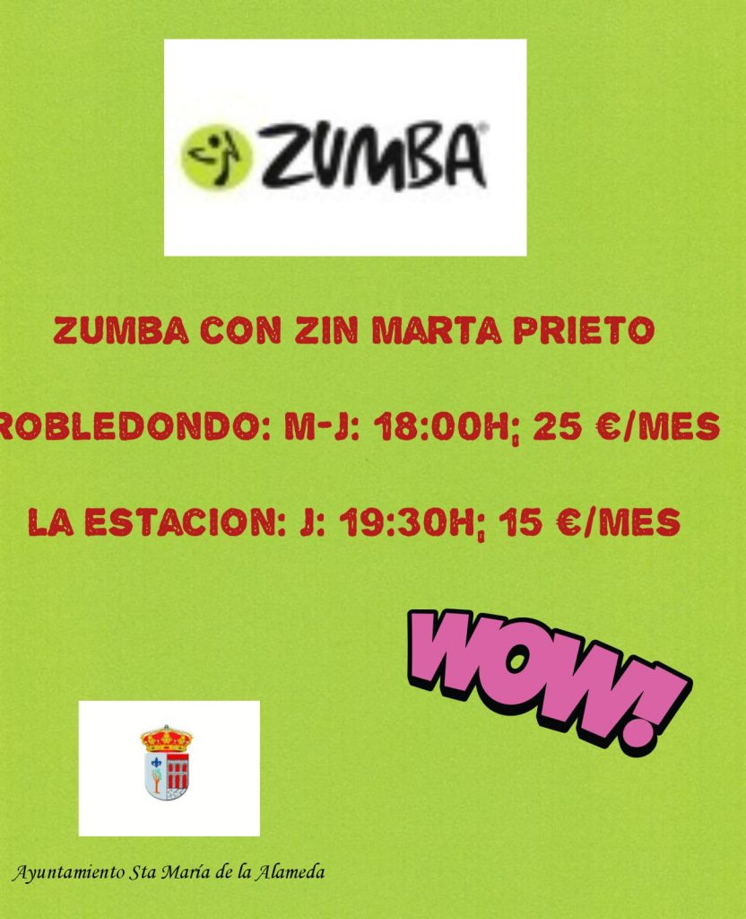 Zumba Robledondo @ Robledondo