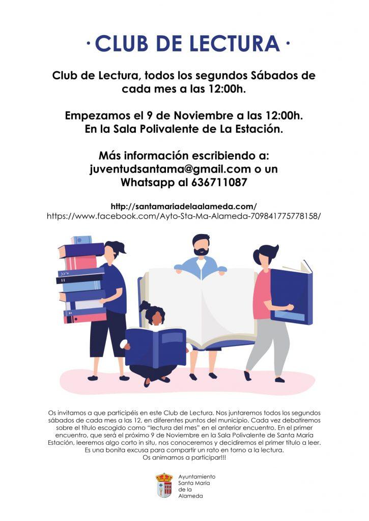 Club de Lectura @ Sala Polivalente LA ESTACIÓN | Comunidad de Madrid | España