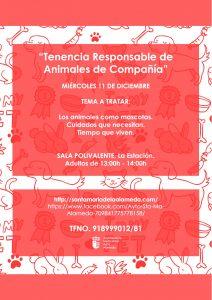 Tenencia responsable animales de compañía @ Sala Polivalente | Santa María de la Alameda | Comunidad de Madrid | España