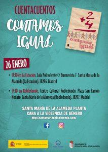 Cuentacuentos Contamos Igual @ Sala Polivalente | Santa María de la Alameda | Comunidad de Madrid | España