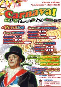 Carnaval @ Centro Cultural La Matanza | Robledondo | Comunidad de Madrid | España