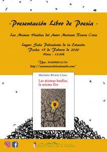 Presentación libre de Poesía @ Sala Polivalente La Estación | Santa María de la Alameda | Comunidad de Madrid | España
