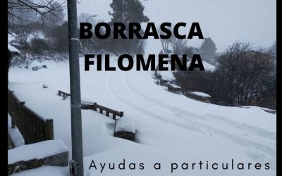 Borrasca Filomena